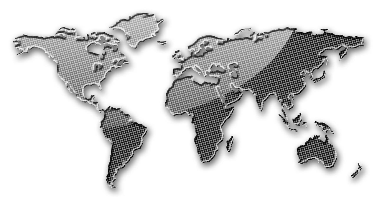 Położenie geograficzne Ameryki Południowej
